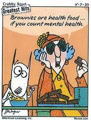 Maxine - mental health Brownies are Health Food when you count Mental Health Health Humor Just In Case, Just For You, Aunty Acid, Thats The Way, Just For Laughs, Motivation, Laugh Out Loud, The Funny, In This World