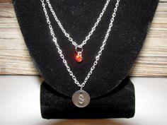 Custom initial necklaces!