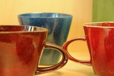 Mugs made from ceramics / hrnčeky z kameniny