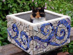 Mosaic planter