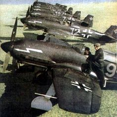 Heinkel 100, only 19 produced, faster than the Spitfire, and with longer legs than the  ME-109