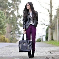 Hoy en el blog un look rockero :) today in my blog a rocker outfit - @petitsweetcouture- #webstagram