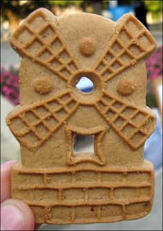 Windmill cookie - my dad used to make us ice cream sandwiches with these!