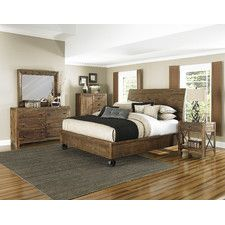 River Ridge King Bedroom Set With Door Nightstand. This Is The Set I Want  From Furniture Row!