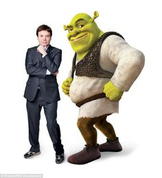 Did you know that in Shrek they almost picked Mike Myers for the role of the voice of Shrek himself? He was so close in fact that he was casted as the voice of the main character of the movie. Shrek Character, Main Character, Fiona Shrek, Princesa Fiona, Chris Farley, Rumpelstiltskin, Eddie Murphy, Magical Creatures, Funny People
