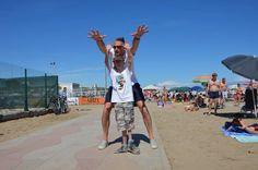 #lucchetta #sammybasso #sammy #training #volley #camp #luckycamp #specialguest #villaggiomarzotto #jesolo #sun #friendship