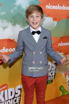 Actor Casey Simpson attends Nickelodeon's 2016 Kids' Choice Awards at The Forum on March 2016 in Inglewood, California. Nickelodeon Awards, Nickelodeon Shows, Kids Choice Award, Choice Awards, Nicky Ricky, E Dawn, Cute Disney Wallpaper, Spongebob Squarepants, Celebs