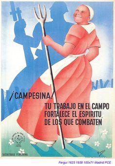 Spain - 1938. - GC - poster - autor: Fergui