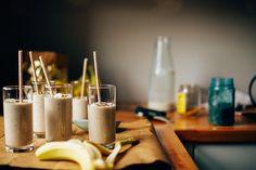 raw banana bread shake // @thefirstmess