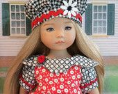 "Little Darling  Dress and Cap  / Clothes  for Dianna Effner's 13"" Little Darlings"