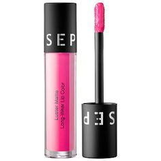 SEPHORA COLLECTION Luster Matte Long-Wear Lip Color in Electra-Pink #sephora