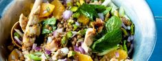 Does it taste like chicken? Our top 10 healthy chicken recipes Chicken Lentil, Good Food, Yummy Food, Lentil Salad, Healthy Chicken Recipes, Healthy Food, Quick Meals, Lentils, Salad Recipes