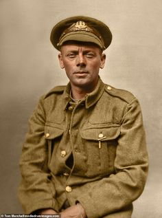 The lost Tommies of The Great War have been brought back to life by a dedicated colourisation artist in a bid to help identify some of the unknown soldiers.