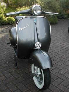 GS150 Project - done! | vespa.org.uk
