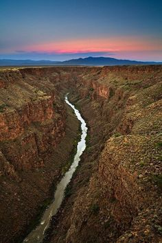 The Rio Grande at Taos, New Mexico