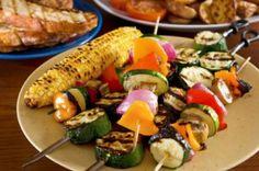 groentenspies-barbecue