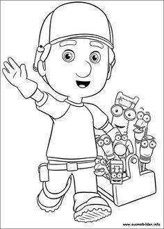 Meister Manny's Werkzeugkiste malvorlagen | Malvorlagen Kids ...