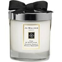 The Pine & Eucalyptus Home Candle from Jo Malone London infuses rooms with the fresh yet embracing scent of the pine tree. An elegant and aromatic fragrance that's perfect for the festive season. Jo Malone London Pine & Eucalyptus Home Candle200gEach Jo Malone™ item will be gift wrapped in the iconic cream and black box.. Pine & Eucalyptus home candle