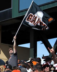 Fans at AT&T Park on Opening Day 2014.