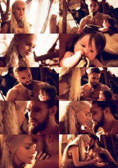 #daenerys #khal #drogo