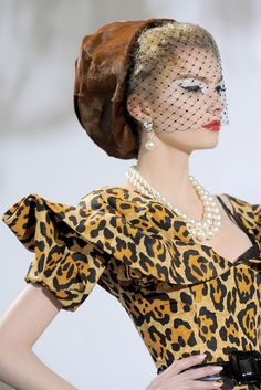 Christian Dior Haute Couture F/W 2009 - 2010 - Cats inspiration