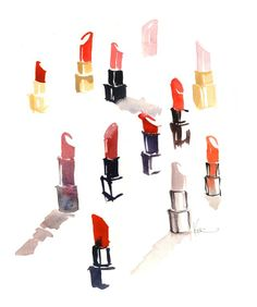 lipstick studies // paperfashion - katie rodgers...