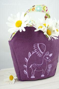 Lieblingstasche mit Rehlein Plotterdatei Blog, Decor, Pentecost, Deer, Friday, Bags, Decoration, Blogging, Decorating