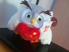 Owl fluffy toy :)