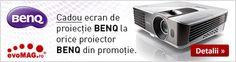 Proiectoare Benq la promotie