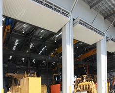 A3000 Foldaway Counterweight Balanced Door