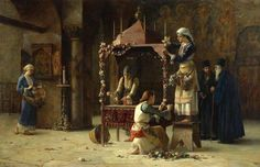 Painting : Holy Friday  by Theodoros Rallis (1893)