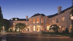 The Manor: Petra Ecclestone is selling her 57,000 square foot Los Angeles mansion and is asking $150 million for it
