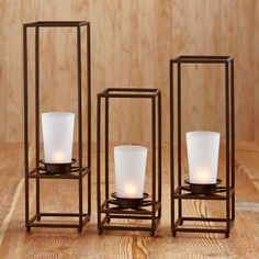 PartyLite Fall/Holiday 2013 Retirements - last day to add it to your collection is December 2013 (order must be submitted before 9 PM PT) Tea Lights, Wall Lights, Rustic Charm, Frosted Glass, Bronze Finish, Candle Sconces, Candle Holders, Glow, Metal Frames