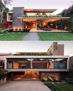 Modern house design - An Atmospheric Approach To Modernist Architecture In Mexico – Modern house design Contemporary Architecture, Interior Architecture, Modern Interior, Contemporary Houses, Contemporary Design, Architecture House Design, Big Modern Houses, Interior Office, Futuristic Architecture