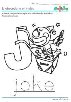 abecedario la letra j