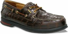Sperry Top-Sider - Men's Gold Cup Croc 2-Eye Boat Shoe