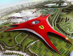 Ferrari World Park. Abu Dahbi