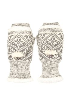Faux Fur Convertible Mittens | FOREVER21 - 2000118459