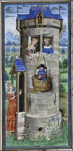 The Book of the Hunt of King Modus & Queen Ratio - 15th century Flemish manuscript miniatures via Flickr.