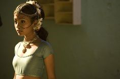 A Young Latika, Slumdog Millionaire...not quite sure of the young actress's name, but just LOOK at that face! :)