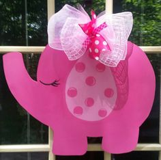 Hospital door hanger baby girl hospital door hanger by MoniLulis