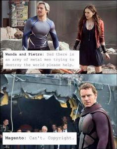 Could you imagine how awesome it would be if Magneto showed up to save his kids.