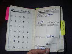 personal planner/GTD moleskine