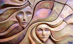 Portal Guaraní - MURALES CERÁMICOS Y PINTURAS AL ÓLEO, 2002 (Obras de PATRICIA SCHIMPF) Ceramic Wall Art, Tile Art, Aluminum Foil Art, Bohemian Wall Tapestry, Cement Art, 3d Cnc, Copper Art, Art N Craft, Sculpture Clay