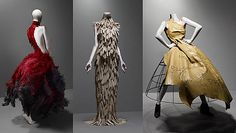 Alexander McQueen Savage Beauty Exhibition at the Met.