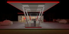concept statie de carburanti AZALIS, romania. concept exterior si interior, concept semnalistica si imagine statie de carburanti AZALIS. varianta 2, concept interior si exterior statie.