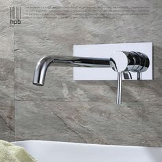 HPB Contemporary Concealed Basin Mixer Hot and Cold Water Bathroom Faucet Wall Mounted Mixer Tap torneira banheiro HP3306 - ICON2 Luxury Designer Fixures  HPB #Contemporary #Concealed #Basin #Mixer #Hot #and #Cold #Water #Bathroom #Faucet #Wall #Mounted #Mixer #Tap #torneira #banheiro #HP3306