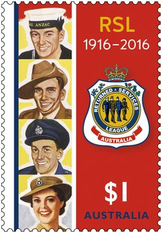 We are commemorating the 100 years of invaluable work done by the Returned and Services League of Australia (RSL) with the release of a new stamp. Purchase in-store or online: http://auspo.st/1P2K73f  #Philatelic #RSL