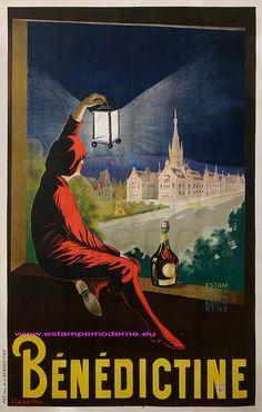 Capiello Benedictine 195X127 Imp Benedictine | Flickr - Photo Sharing!