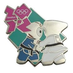 Price: $8.95 - Olympics London 2012 Olympics Mascot Judo Pin - TO ORDER, CLICK THE PHOTO